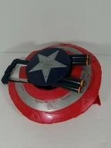 Captain America Reveal Shield Nerf Gun 4 Shot Dart Protect Nerf War Hasbro  - $24.74