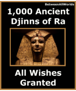 jvmz 1,000 Djinns Of Ra TheSun God All Wishes Granted Betweenallworlds R... - $159.43