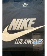 Nike Sportswear Los Angeles Black Gray TShirt BQ6607-010 Womens Size Med... - $28.00