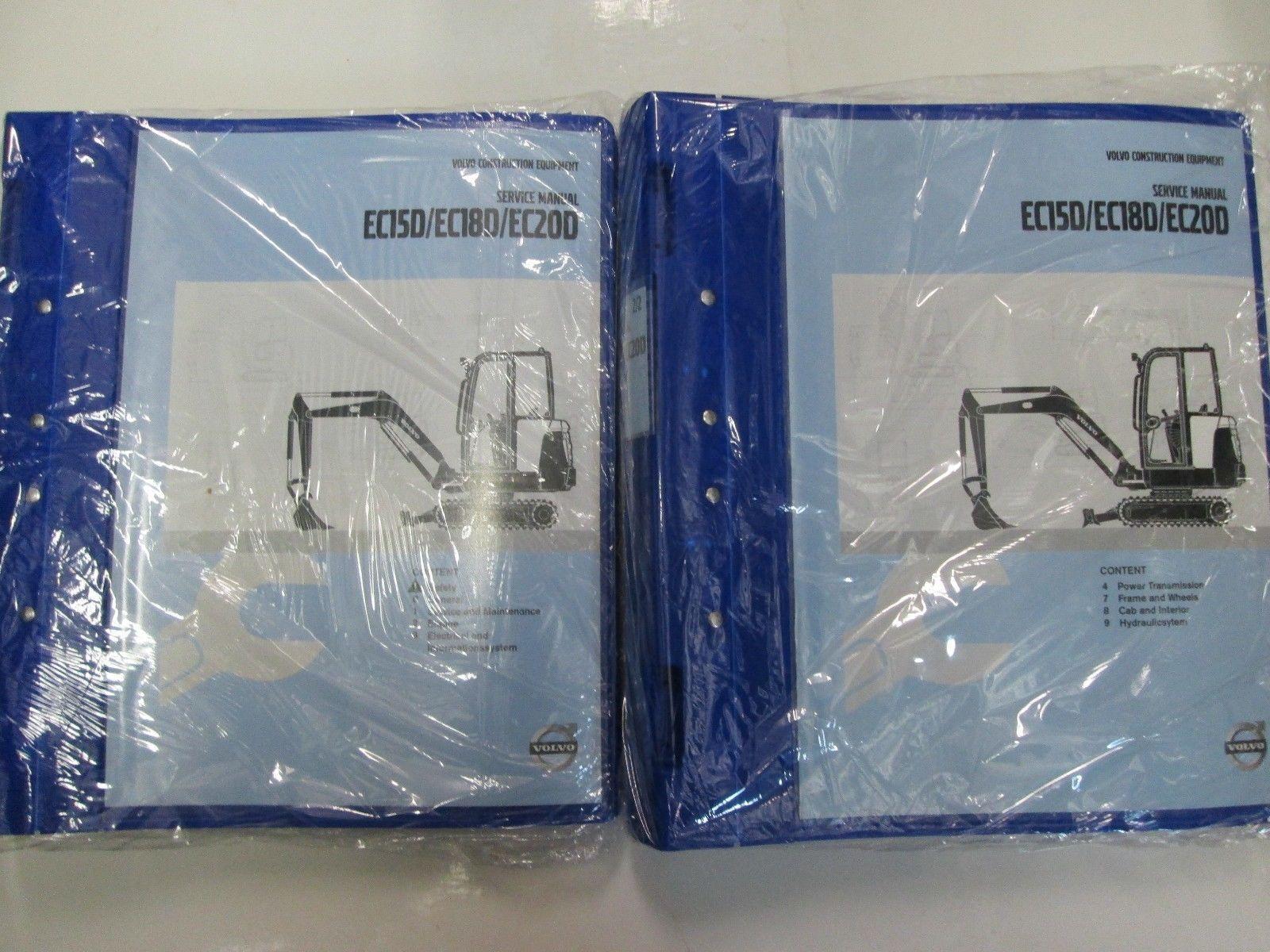 volvo factory service manuals