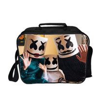 Marshmello Kid Adult Lunch Box Lunch Bag Picnic Bag C - $19.99