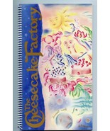 Cheesecake Factory 36 Page Spiral Bound Menu 2003 Macy's Ads San Francisco - $27.72