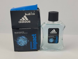 Fresh Impact by Adidas for Men EDT Cologne Spray 100ml/3.4 oz.Damaged Box - $55.15