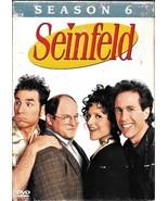 Seinfeld Season 6 DVD-Set, Sony & Castle Rock 2006 - $6.99