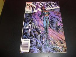 Uncanny X-Men #198 VF Condition 1985 Original Marvel Comic Book Life Dea... - $3.59