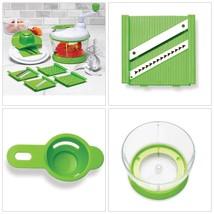 13-Pieces Vegetable Slicer Set Chopper Dicer Fruits Cutter Grate Shred K... - €16,08 EUR