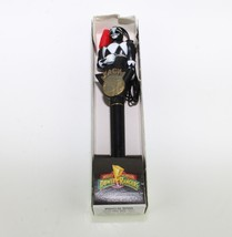 Classic Mighty Morphin Power Rangers Pen Nacklace Black Ranger Zack 1994 - $34.65