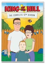 King of the Hill Complete 12th Twelfth Season 12 Twelve DVD Set Series T... - $40.58