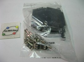 Connector Shell DB25 D-Sub Metal Hood w. Hardware - NOS Qty 1 - $5.69