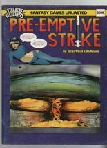 Pre-Emptive Strike  Fantasy Games Unlimited Villains & Vigilantes Stephe... - $12.73