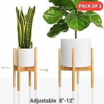 declutterd Plant Stand Indoor Mid Century Planter for House Plants, Rust... - $74.76 CAD