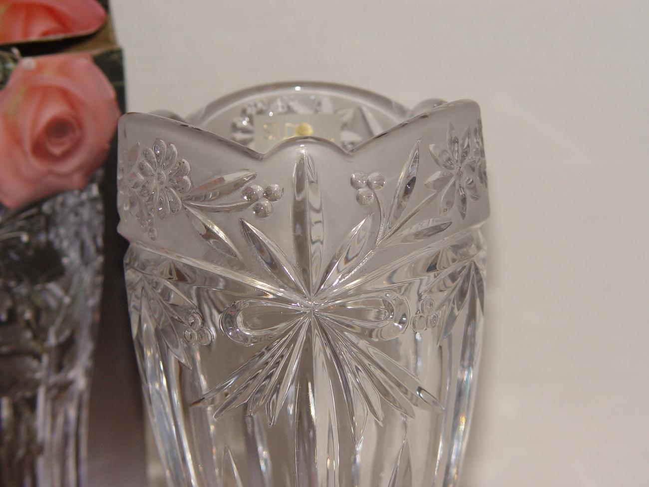 """Studio Nova  Crystal 9 3/4"""" Vase """"Somerset"""""""
