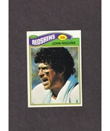 1977 Topps # 55 John Riggins Washington Redskins NM - $1.25