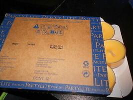 Partylite Tealights dozen (new) GOLDEN BIRCH - $16.55