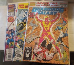 guardians of the galaxy annual # 1, 2, 3, - $7.50