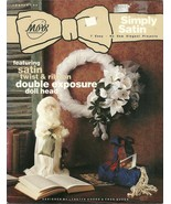 Simply Satin Booklet No. 84 No-Sew Projects - $9.98
