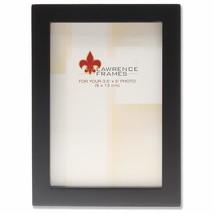 Lawrence Frames Standard Wood Luxury Frame, 3.5 by 5-Inch, Black - $15.49