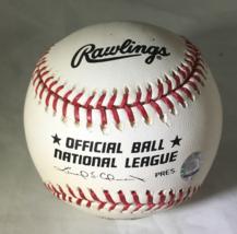 LOU BROCK / MLB HALL OF FAME / AUTOGRAPHED NL BASEBALL IN CUBE / STEINER MLB COA image 2