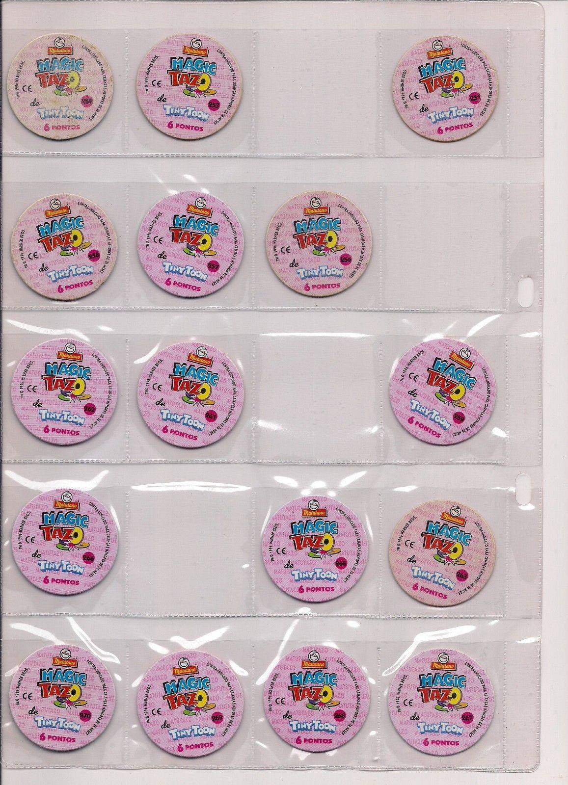 Rare Magic Lenticular Tazos Pogs Lot X 16 and 50 similar items