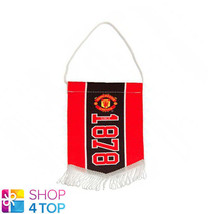 MANCHESTER UNITED FC MINI ESTABLISHED PENNANT HANGING OFFICIAL FOOTBALL ... - $8.70