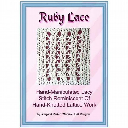 Ruby Lace Technique MK ePattern All Machines