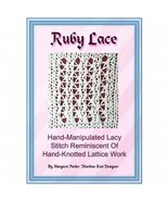 Ruby Lace Technique MK ePattern All Machines - $1.80