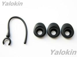 3 Black Large Elipse Earbuds for Jawbone ERA - $10.44