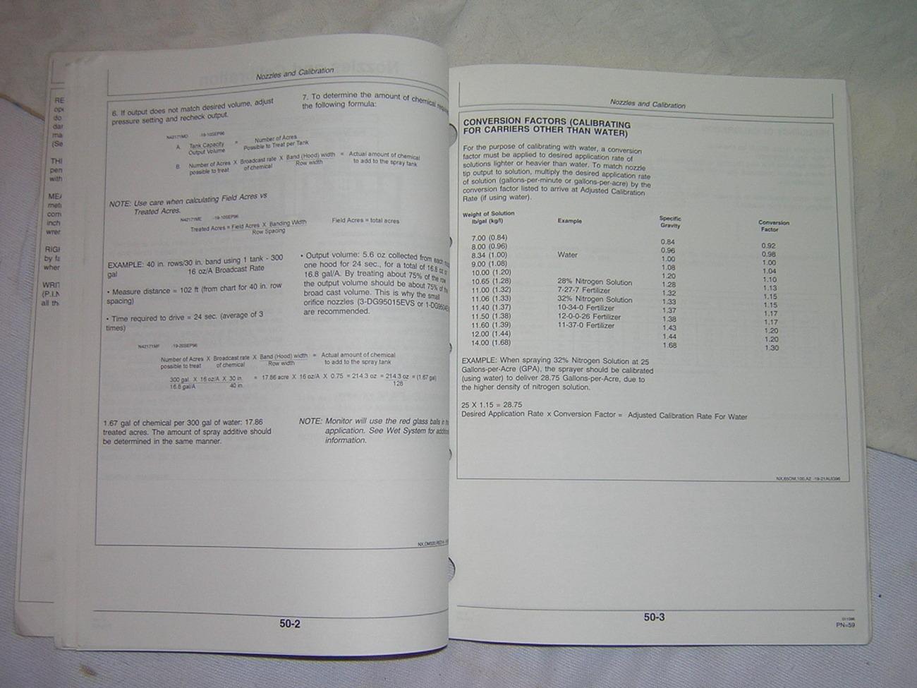 John Deere 320 Hooded Sprayer  Operator  Manual