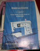 Singer Stylist 477 Instructions 66 Page Booklet Used Complete - $10.00