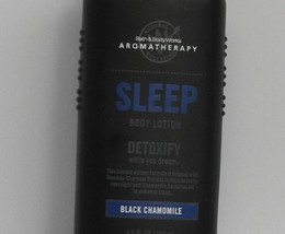 Bath & Body Works Aromatherapy Sleep Black Chamomile Detoxify Body Lotio... - $20.48