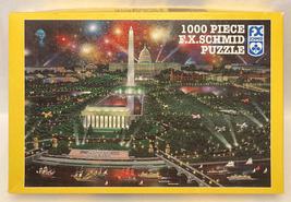 FX Schmid puzzle Washington DC 1000 piece Alexander Chen vintage 1996 - $6.00