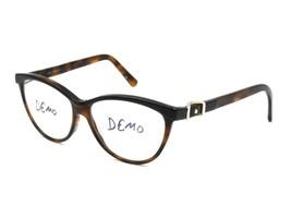 Jimmy Choo 102 Women's Eyeglasses Frame, 53-14-140 Dark Havana (as is) #M39 - $62.32