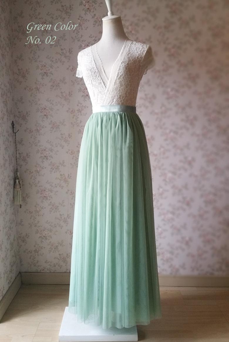 Green wedding skirt no.02