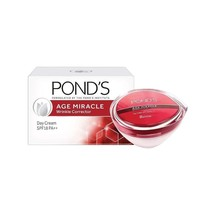 Pond's Age Miracle Wrinkle Corrector Day Cream SPF 18 PA++ 50gm Free Shi... - $25.73