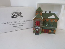 DEPT 56 56405 MCGREBE CUTTERS & SLEIGHS NEW ENGLAND VILLAGE BUILDING NO ... - $18.57