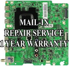 Mail-in Repair Service Samsung UN60F7050AFXZA Main Board 1 Year Warranty - $89.00