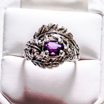 BRAND NEW HANDMADE STERLING SILVER SIZE 9 1/2 A... - $26.99