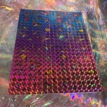 Lisa Frank Dashly Hummingbird Sticker Sheet Complete Prism Holograp Mini Size image 1