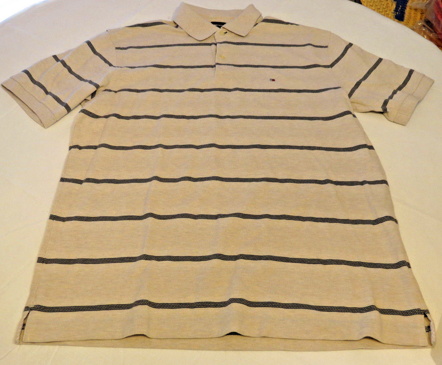 d27b6df9 Tommy Hilfiger Mens short sleeve polo shirt and 50 similar items. 57