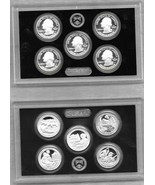 2017 Silver Quarters Proof Set America the Beautiful 90% Silver Uncircul... - $20.79