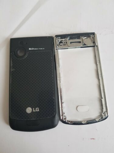 Lg Kf575 front fascia and back cover housing with keypad in black
