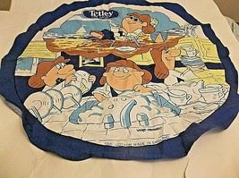 Vintage Tetley Tea Towel by Wyatt-Cattaneo Made in England Cotton - $9.89
