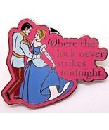 Disney Princess Cinderella & her Prince Dancing Clock Never Strikes Midn... - $9.79