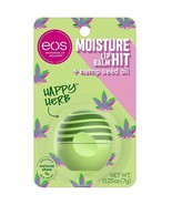 eos Lip Balm HAPPY HERB 1ct. Limited Edition FREE SHIPPING - $12.62