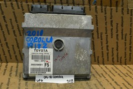 2009-2010 Toyota Corolla Engine Control Unit ECU 8966102F51 Module 508 6F6 - $23.99