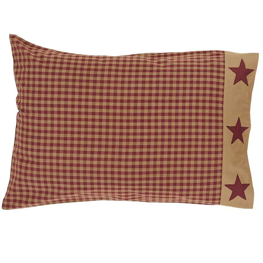 Ninepatch Star Pillow Case Set - Standard - Vhc Brands