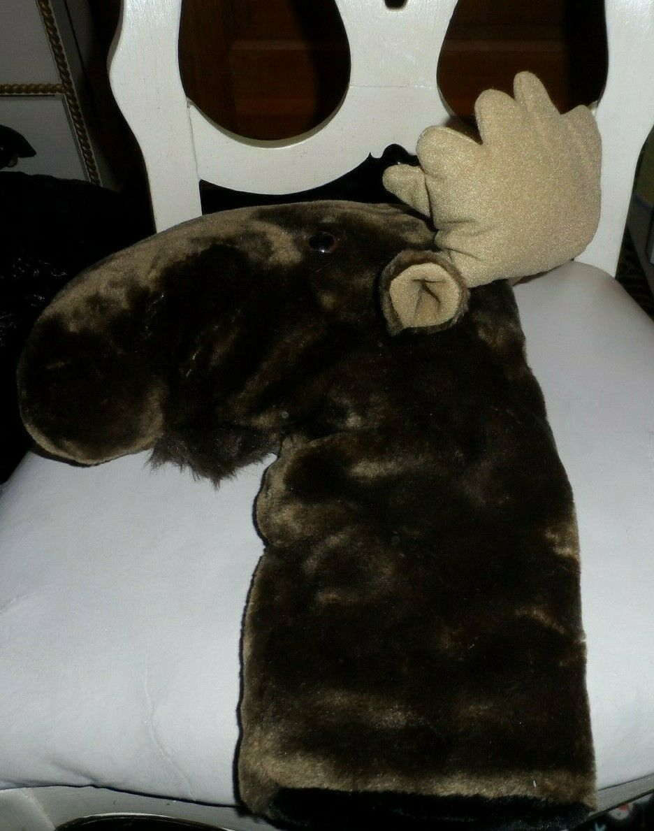 Primary image for Golf Club Head cover - brown Moose by ProActive Sports 13""