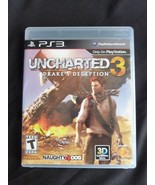 PlayStation 3 : Uncharted 3: Drakes Deception Video Games - $4.85