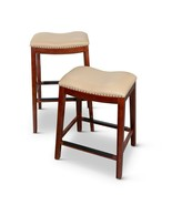 DTY Indoor Living Bonded Leather Saddle Stool - $99.95