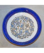 Vintage Black Starr & Gorham Enameled Floral Dish - $23.76